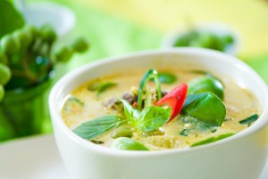 Thai cooking class port douglas green curry